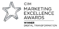 CIM Marketing Awards Winner Digital Transformation