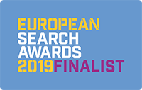 European Search Awards Finalist 2019