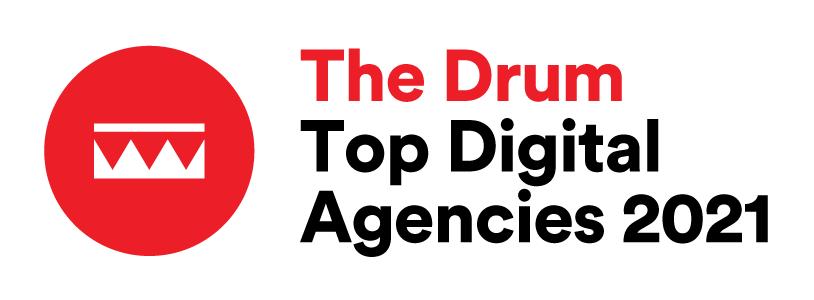 The Drum Top Digital Agency 2021 - Top 50 Most Awarded Digital Agencies