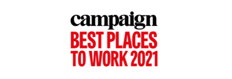Campaign's Best Place to Work 2021 Logo
