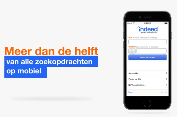 Indeed - Sponsored Jobs (Netherlands)