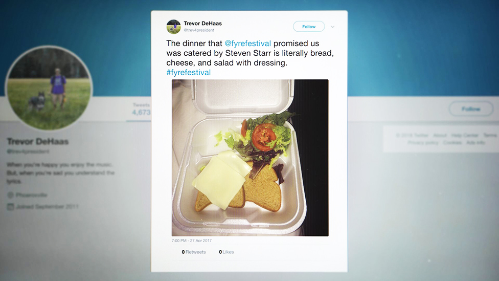 Sandwich in a styrofoam container