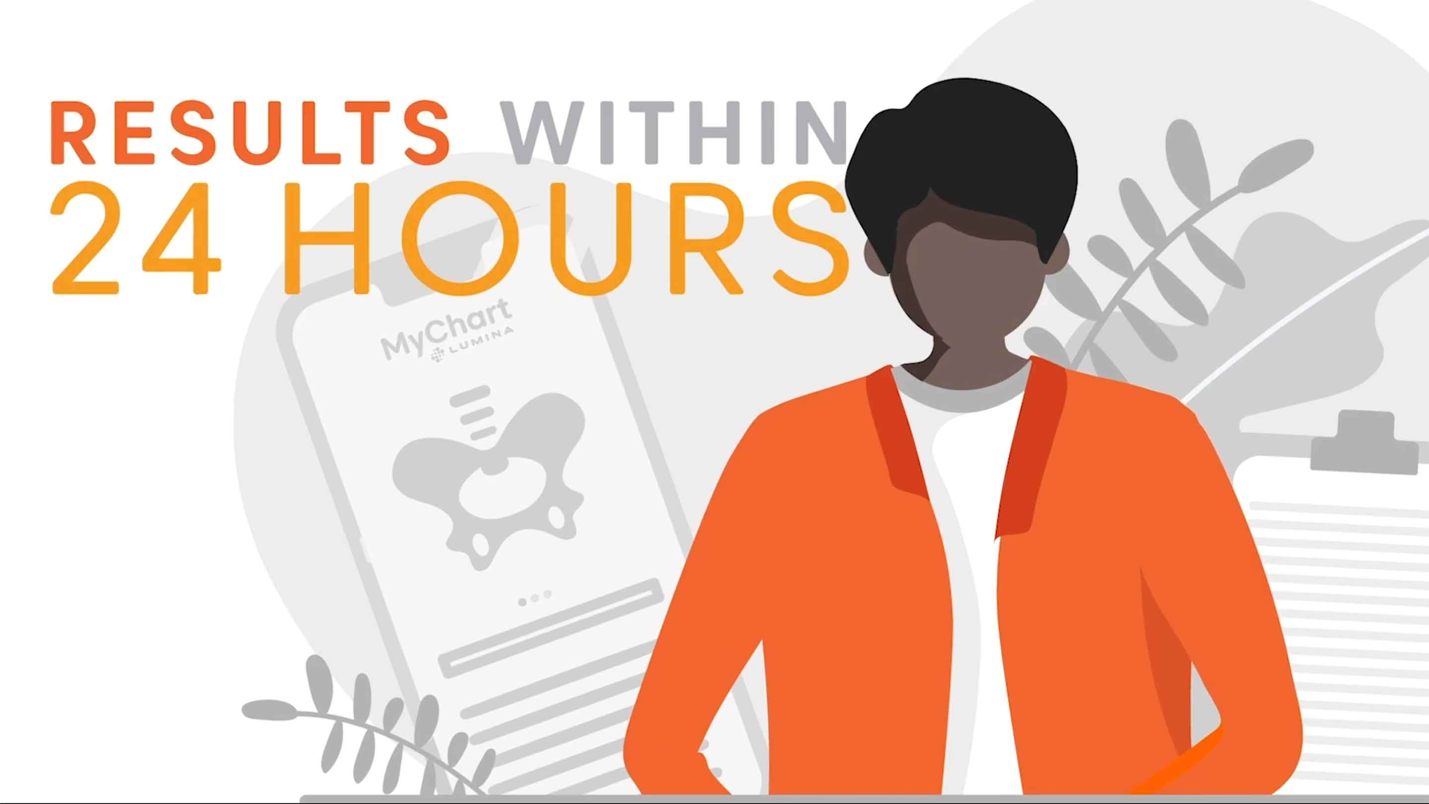 We deliver results within 24-hours