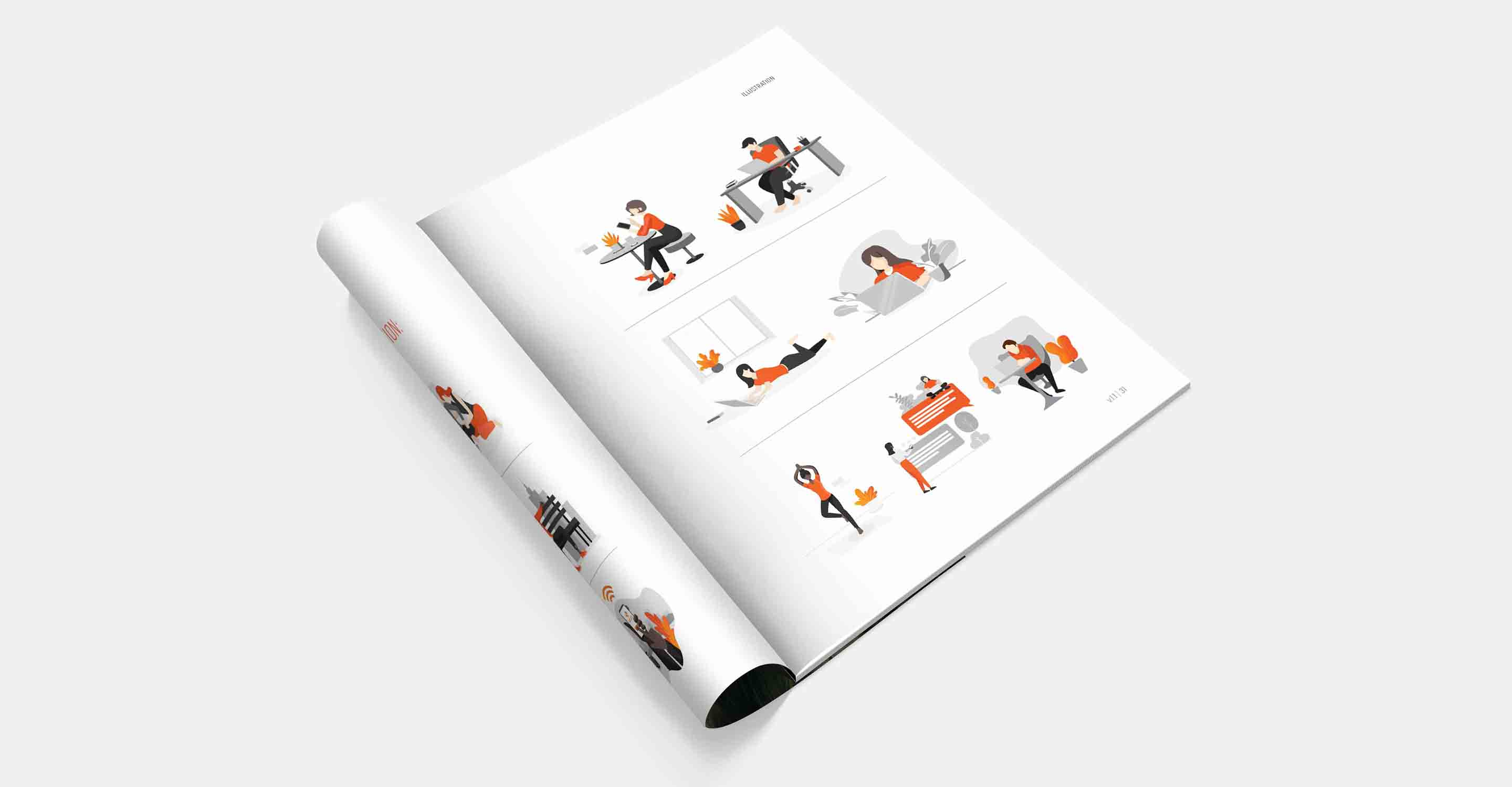 A page from the Lumina Imaging brand guide produced by _defyThemAll: a creative brand and digital agency