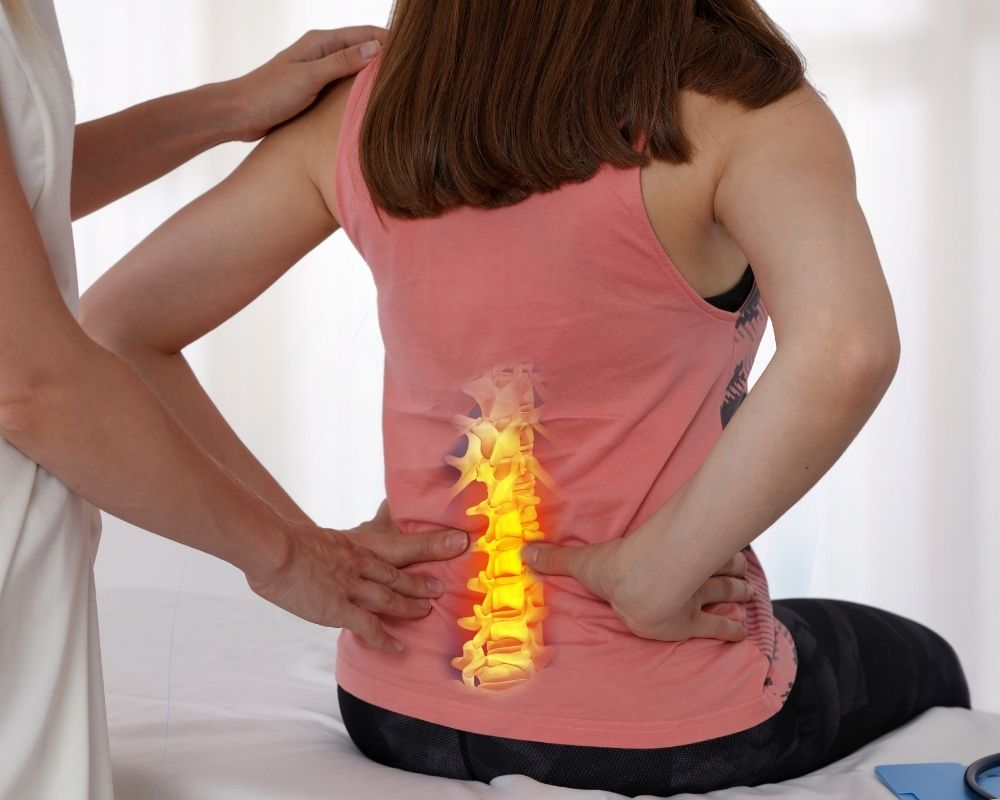 Woman with sciatic pain | Sciatica