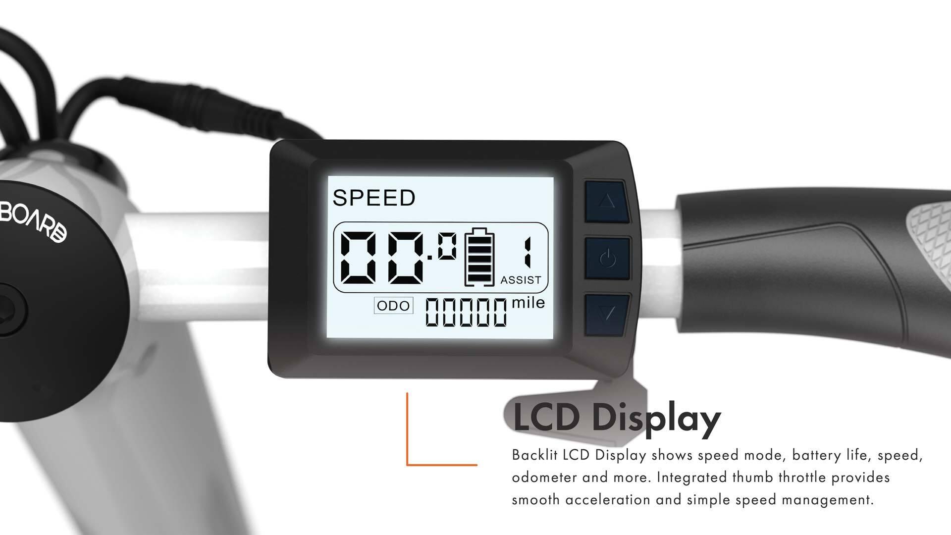 Golf Dive LCD Display