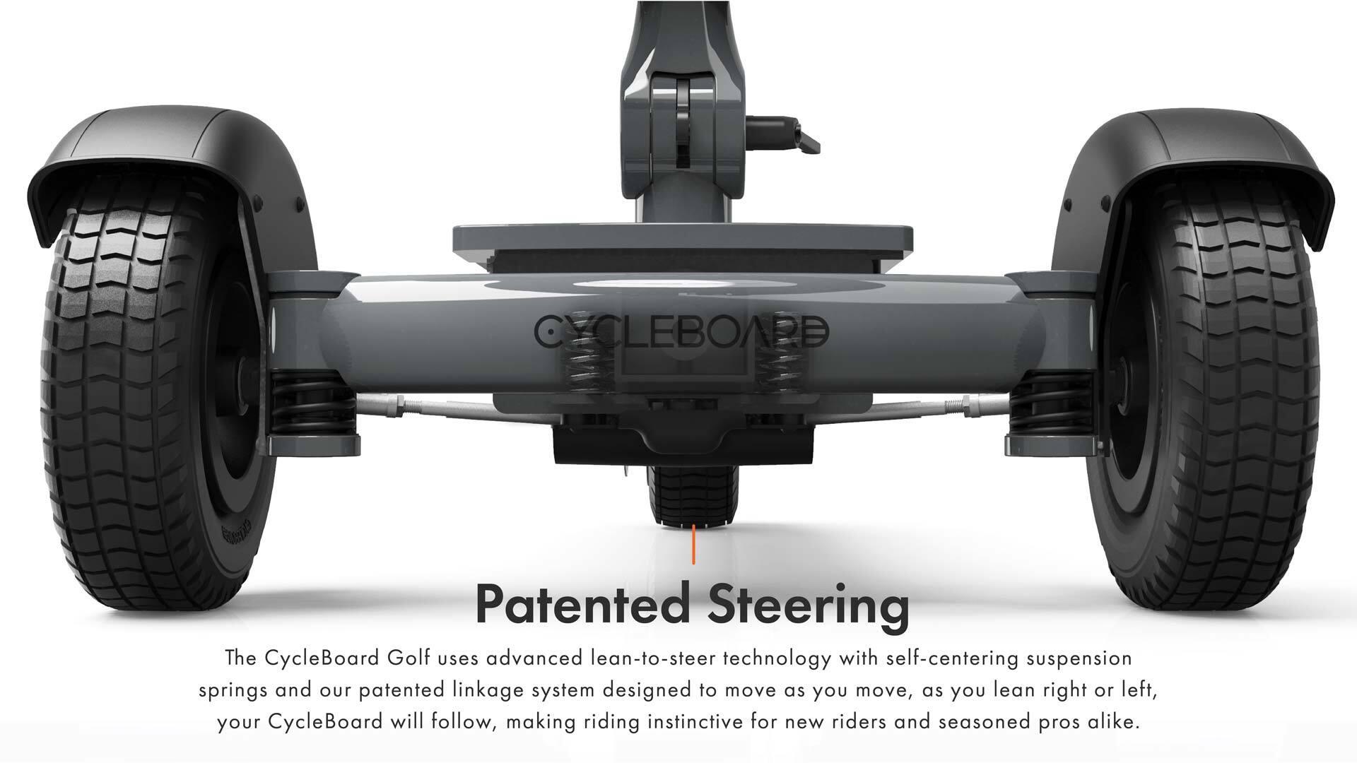 Patented Steering