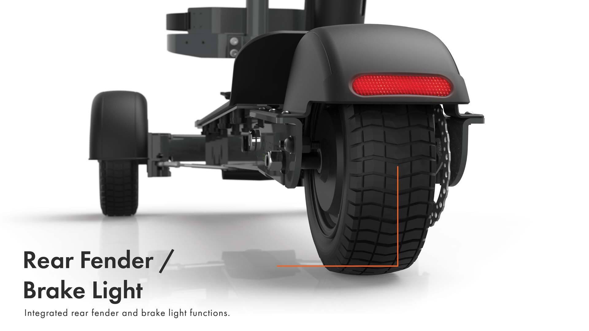 Rear Fender/ Brake Light