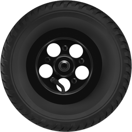 Golf Rover Front Wheel