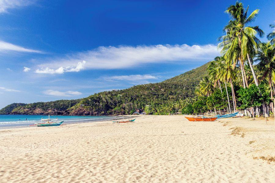 Lepe plaže Palawana.
