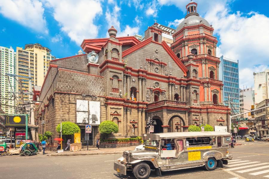 Manila za konec potovanja.