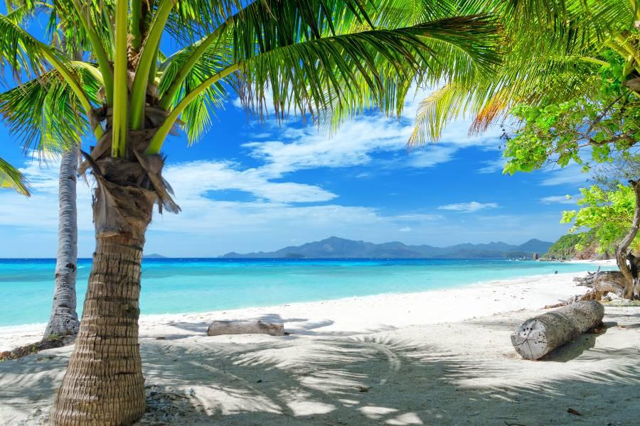 Peščene plaže na Filipinih.