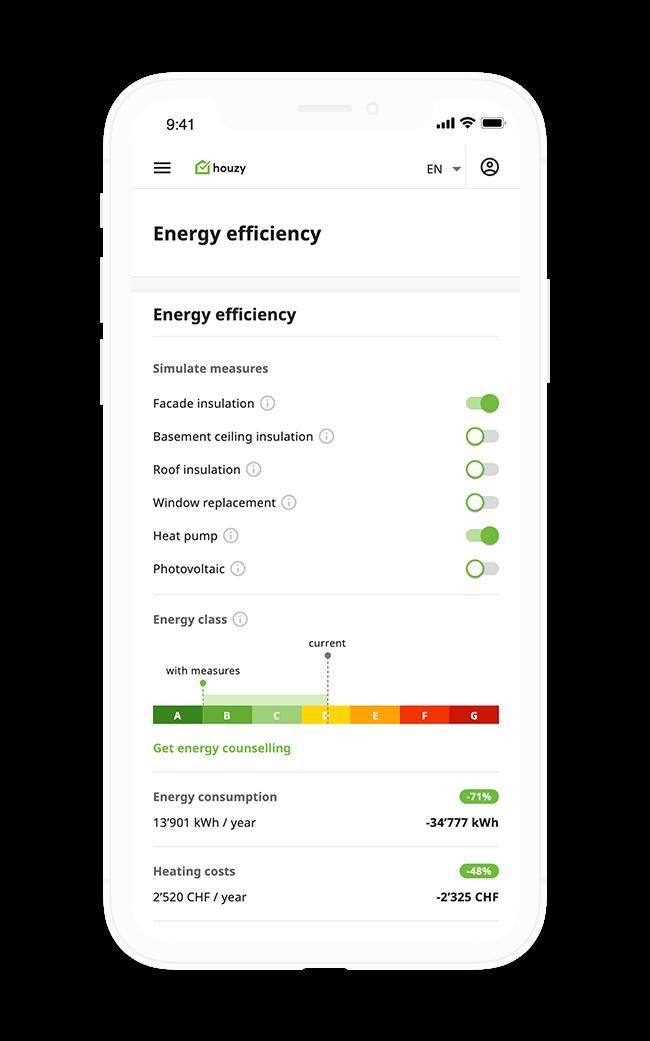 Optimize energy efficiency