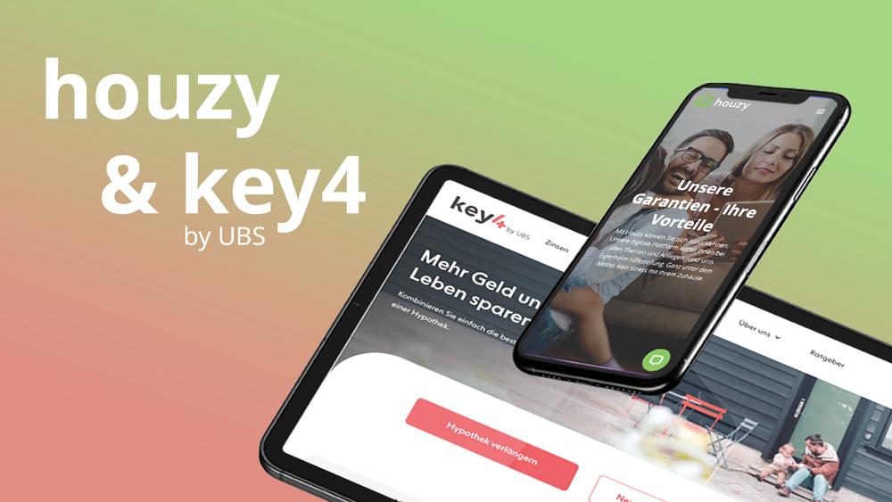 Houzy und key4 by UBS sind Partner