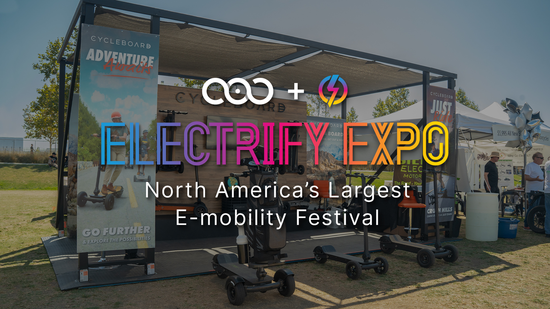 Thats a wrap on Electrify Expo 2021 OC. Watch and re-live the expo and see what people had to say about there test drive experience.