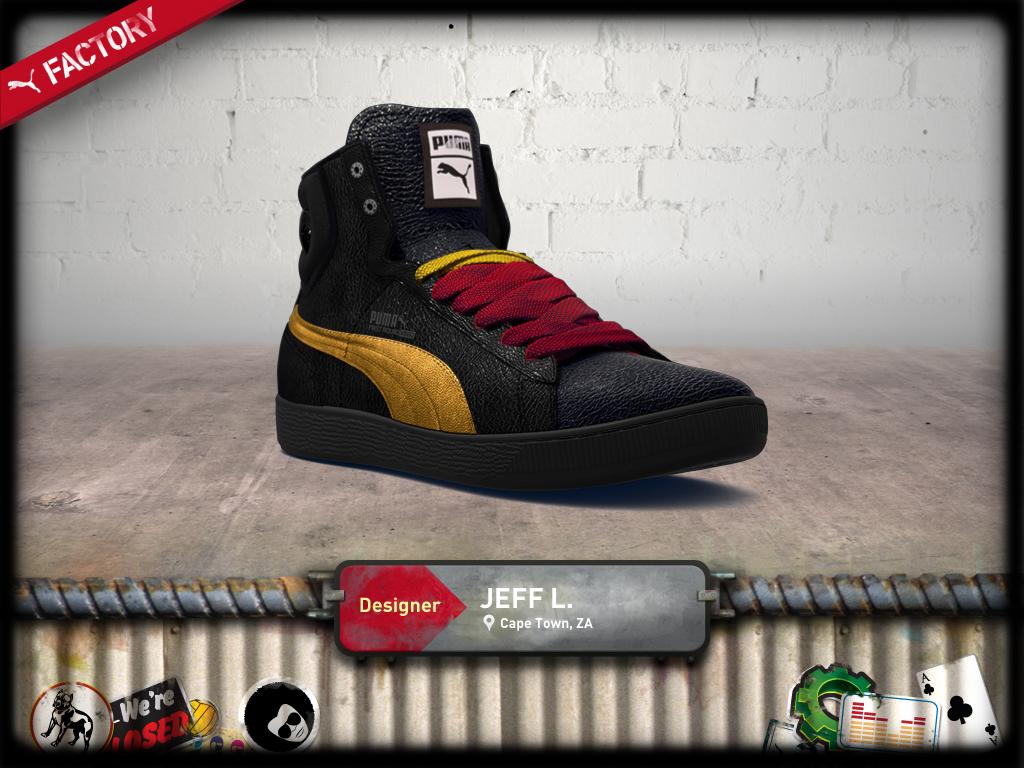 Puma Factory custom shoe designer