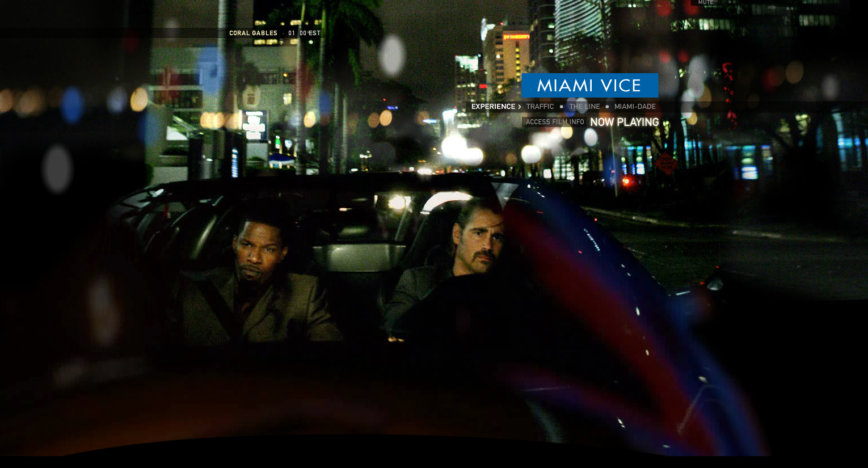 Miami Vice Website