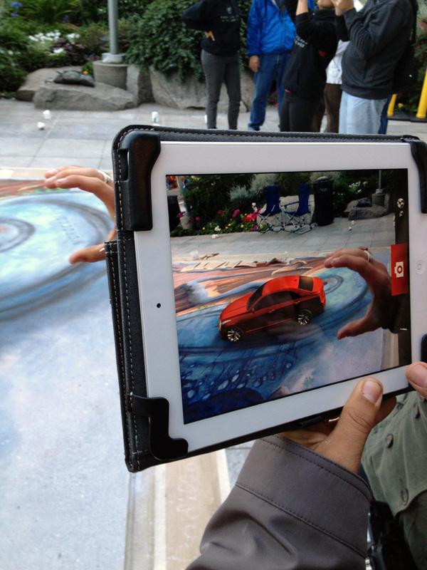 Cadillac ATS Augmented Reality