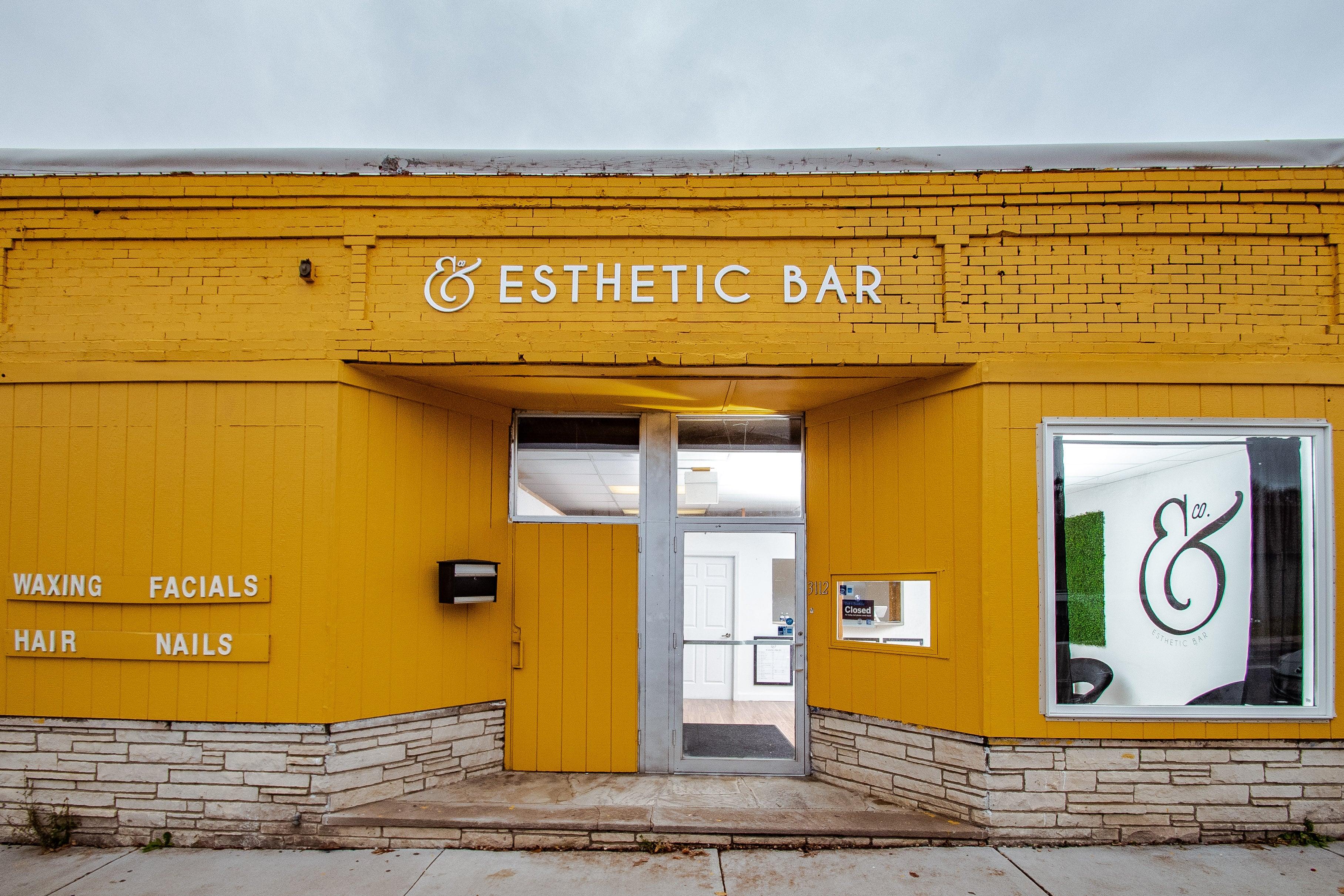 & Company Esthetic Bar storefront