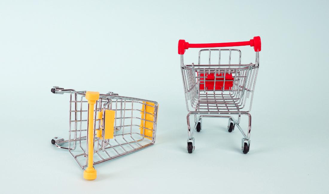 Two Shopping Cart
