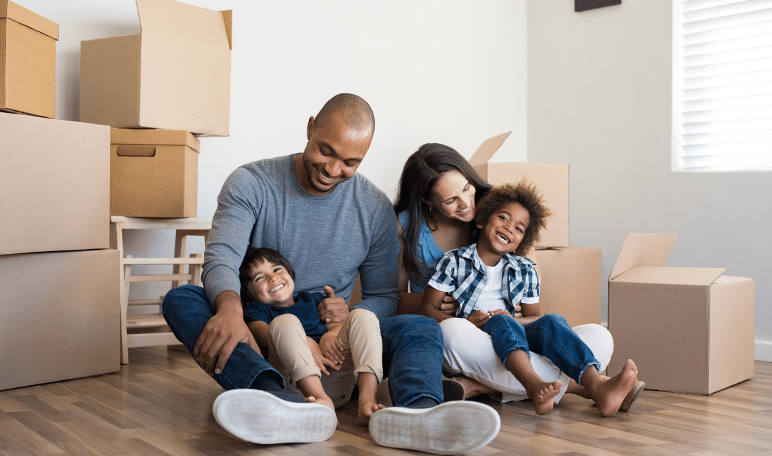 Family Moving to New Home