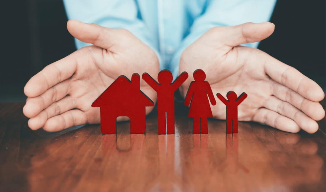 Life and house and health insurance