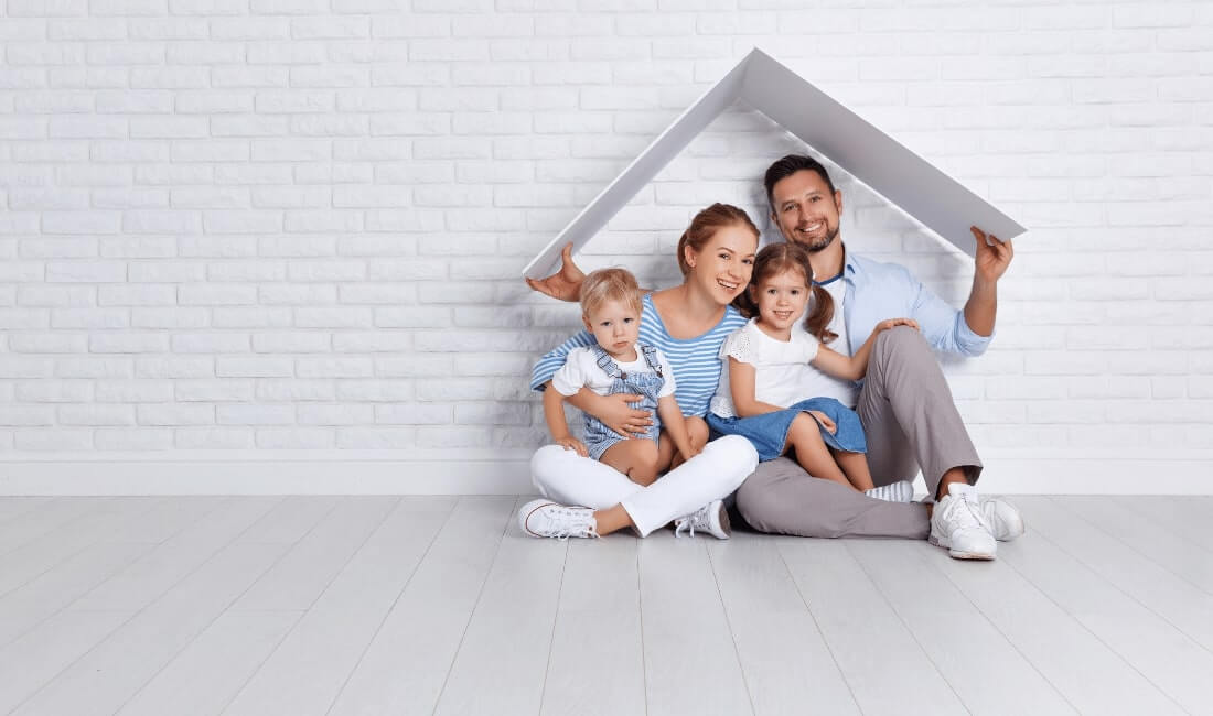 concept housing a young family
