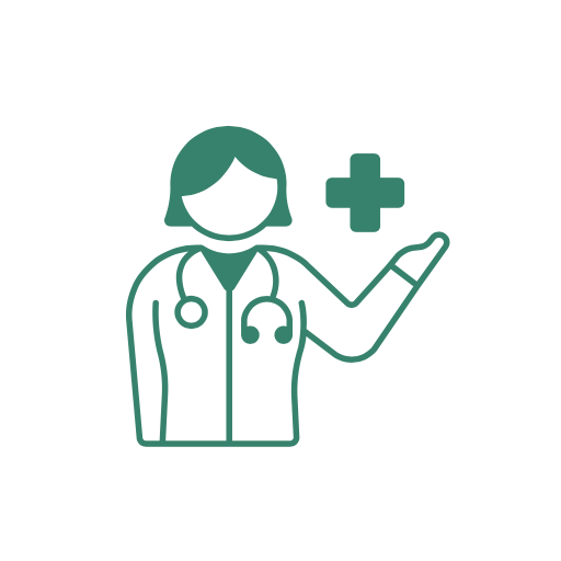 Doctor Giving Medical Life Insurance Advice