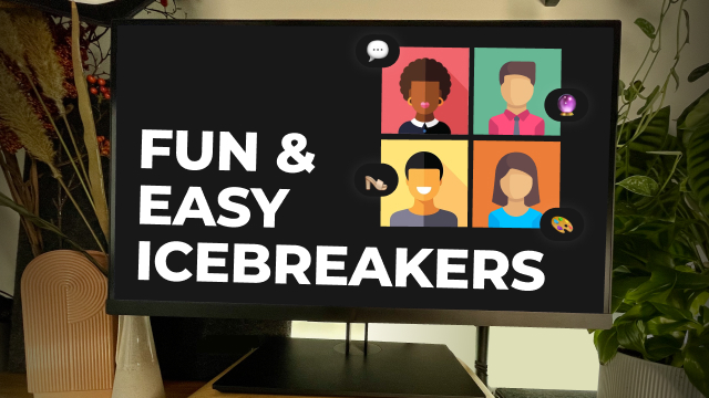 4 Fun and Easy Icebreakers to Kick Off an Online Session
