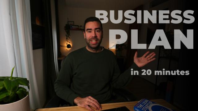 Lean Canvas: Your 20-minute business plan