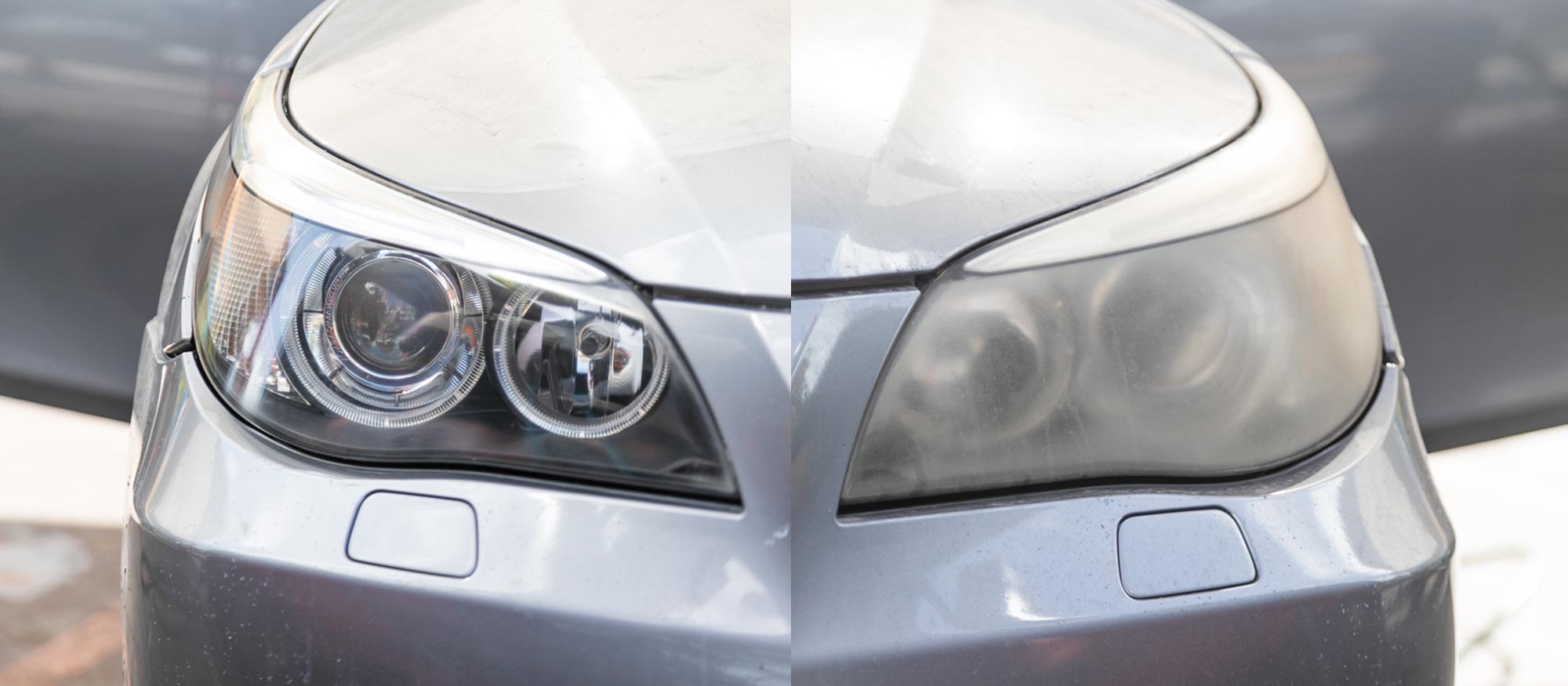 Fog Headlights restoration in Miami