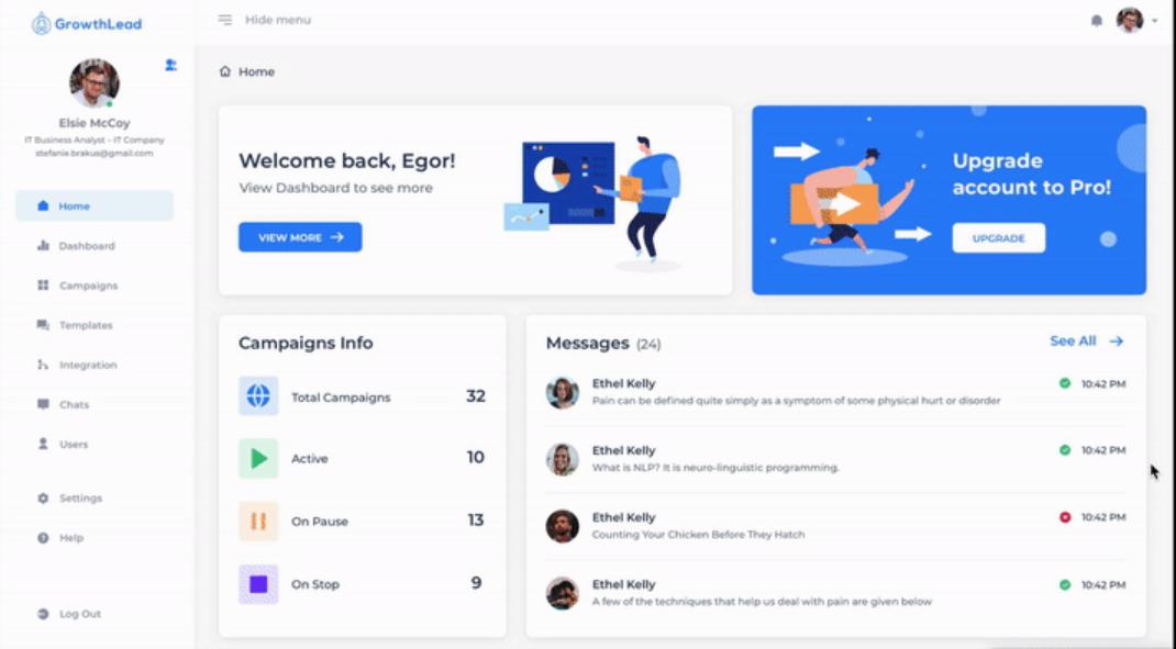 GrowthLead Linkedin Automation