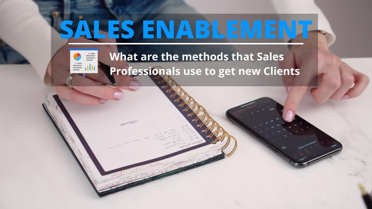 Sales Professionals techniques