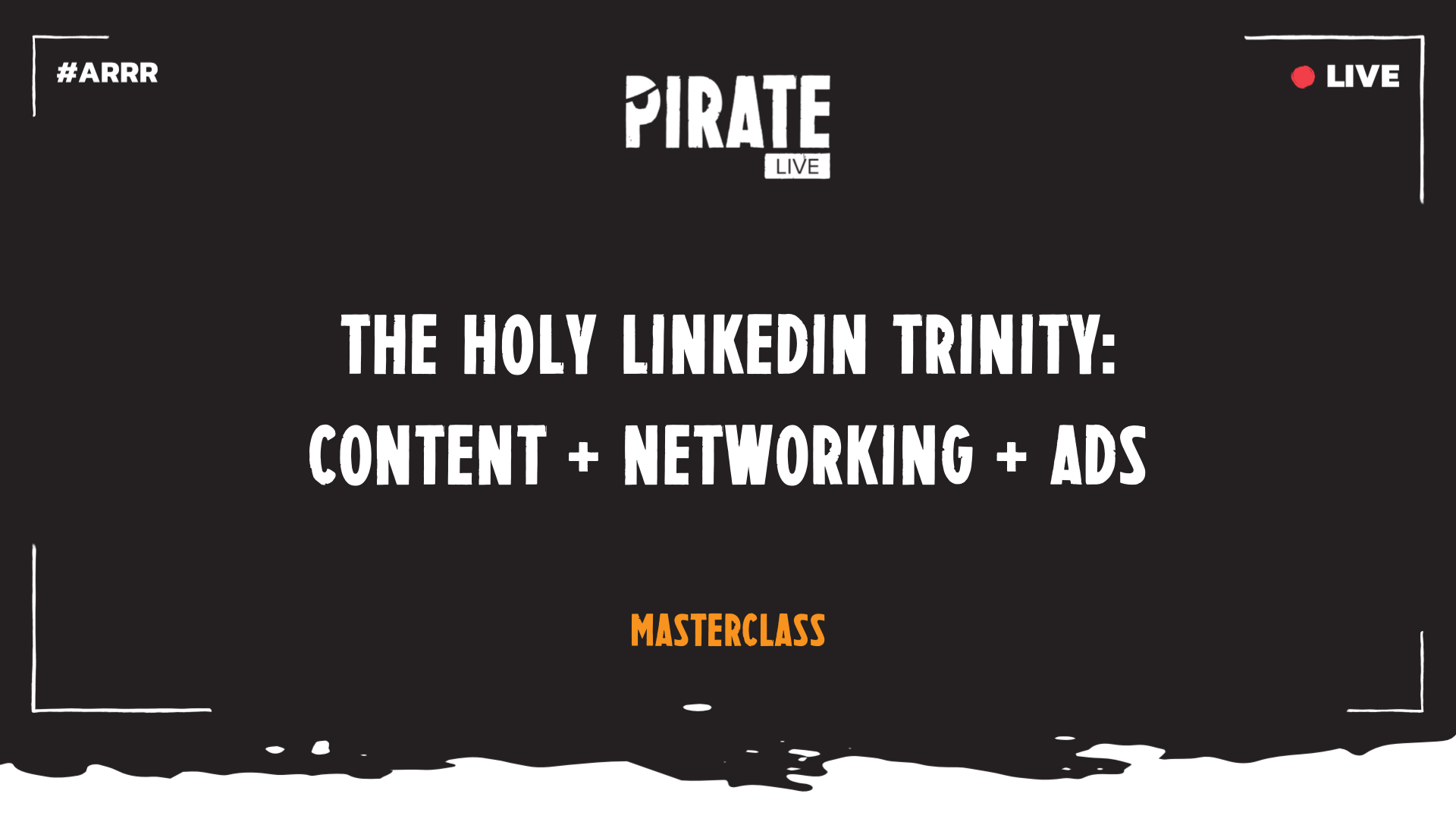 The holy Linkedin trinity: Content + Networking + Ads