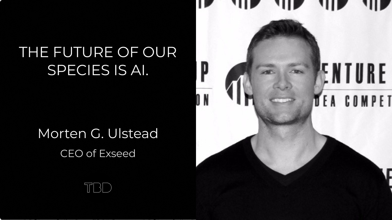 The future of our species is AI.
