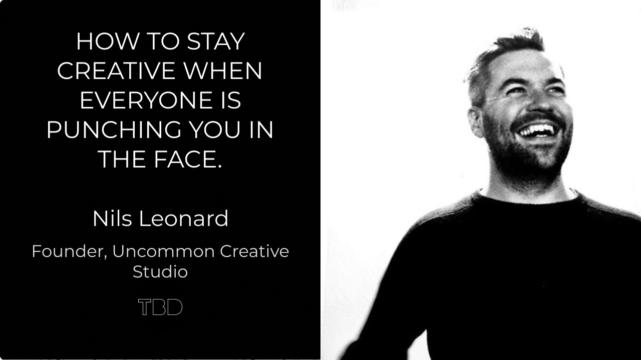 How to stay creative when everyone is punching you in the face.