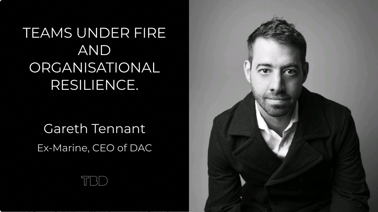 Teams under fire and organisational resilience.