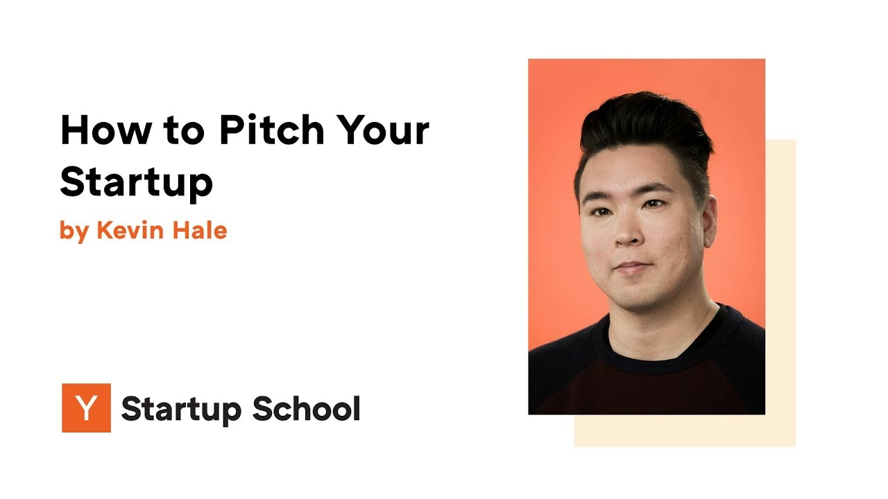 How to Pitch Your Startup