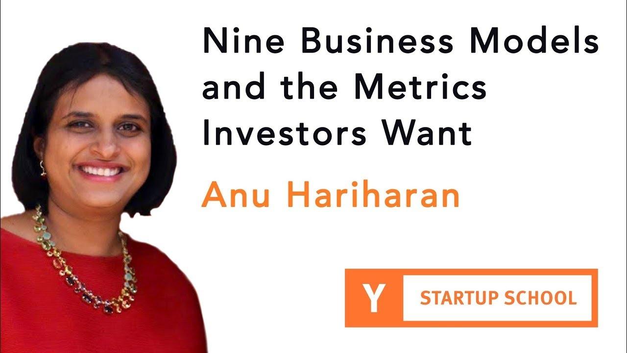 Nine Business Models and the Metrics Investors Want
