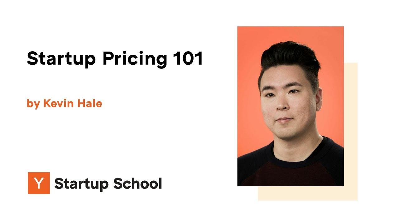 Startup Pricing 101