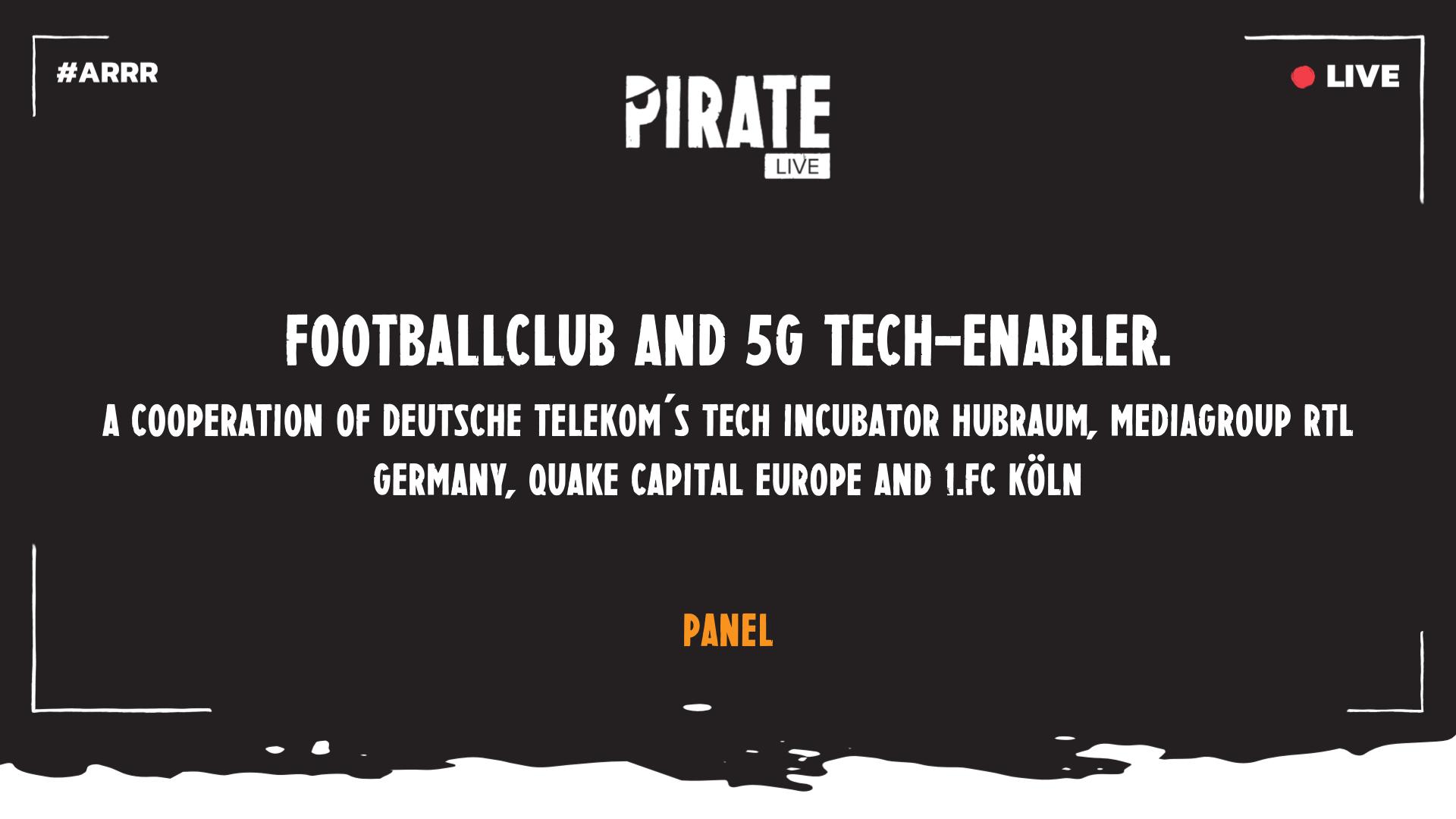 Footballclub and 5G tech-enabler