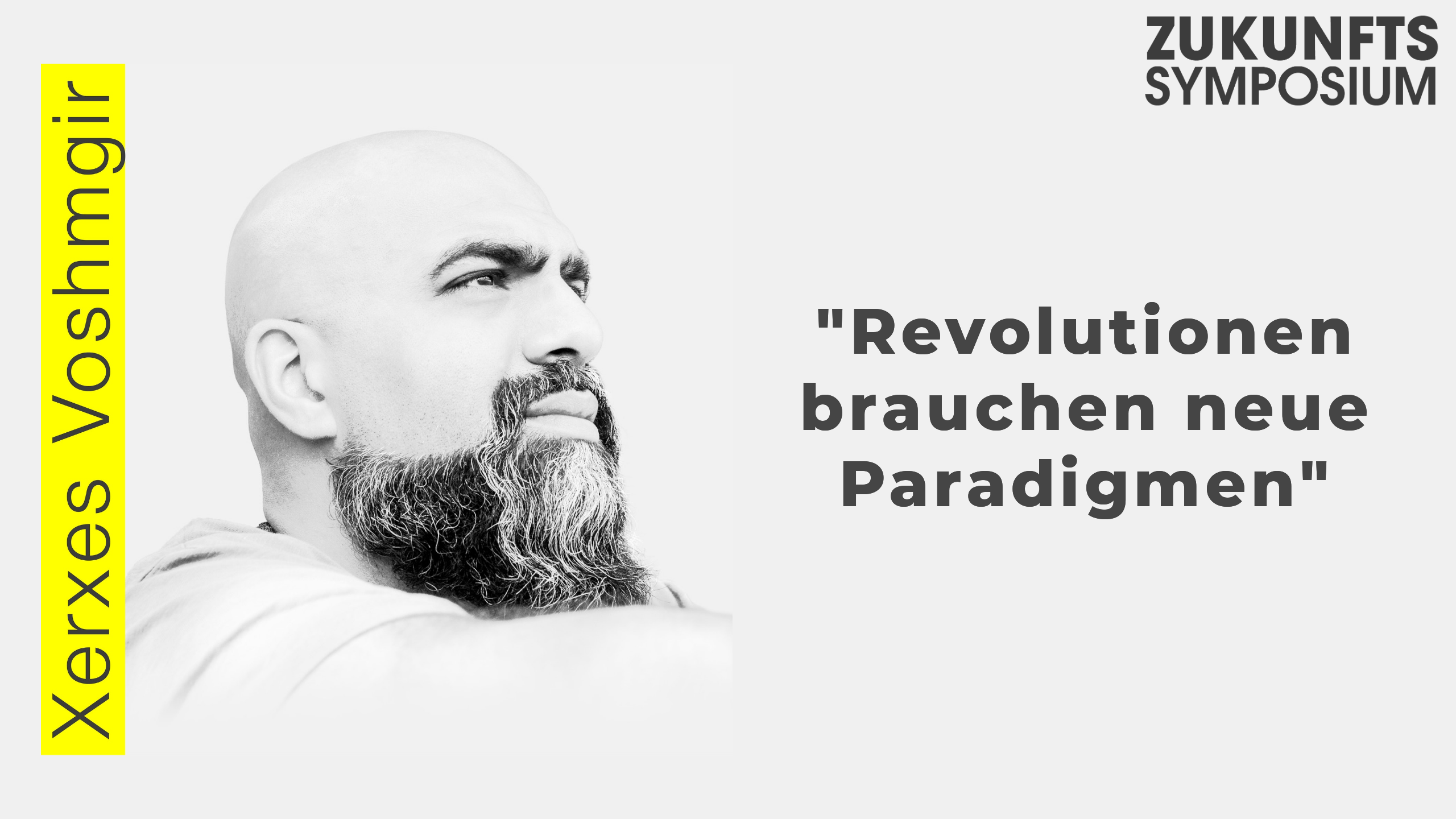 Revolutionen Brauchen Neue Paradigmen