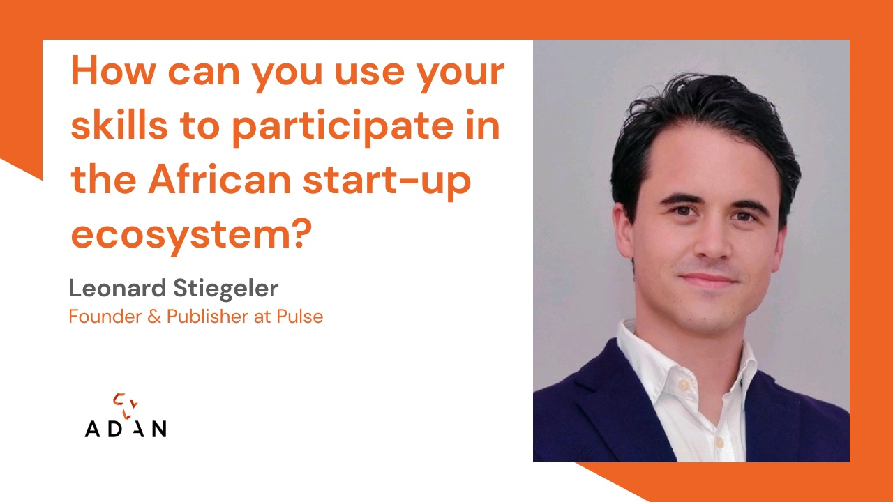 How can you participate in the African start-up ecosystem?