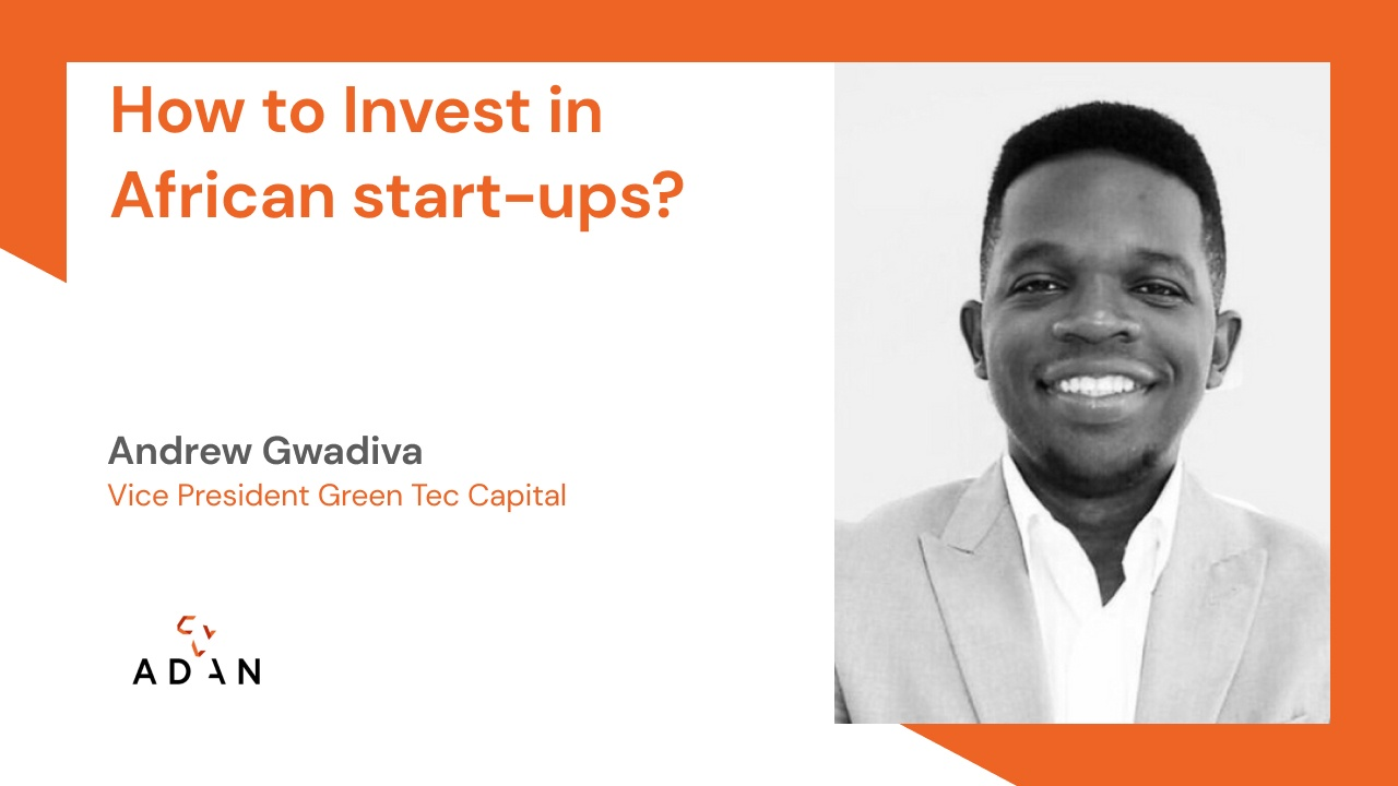 How to Invest in African start-ups?