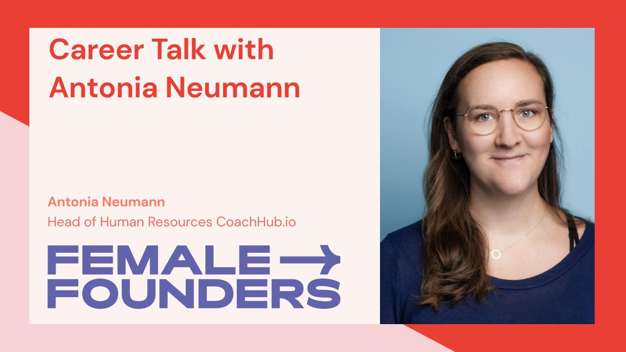 Career Talk with Antonia Neumann