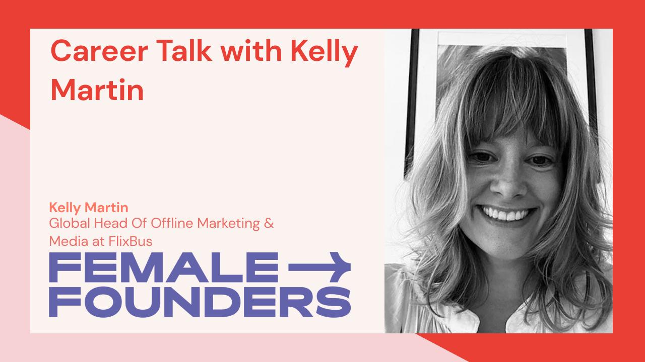 Career Talk with Kelly Martin