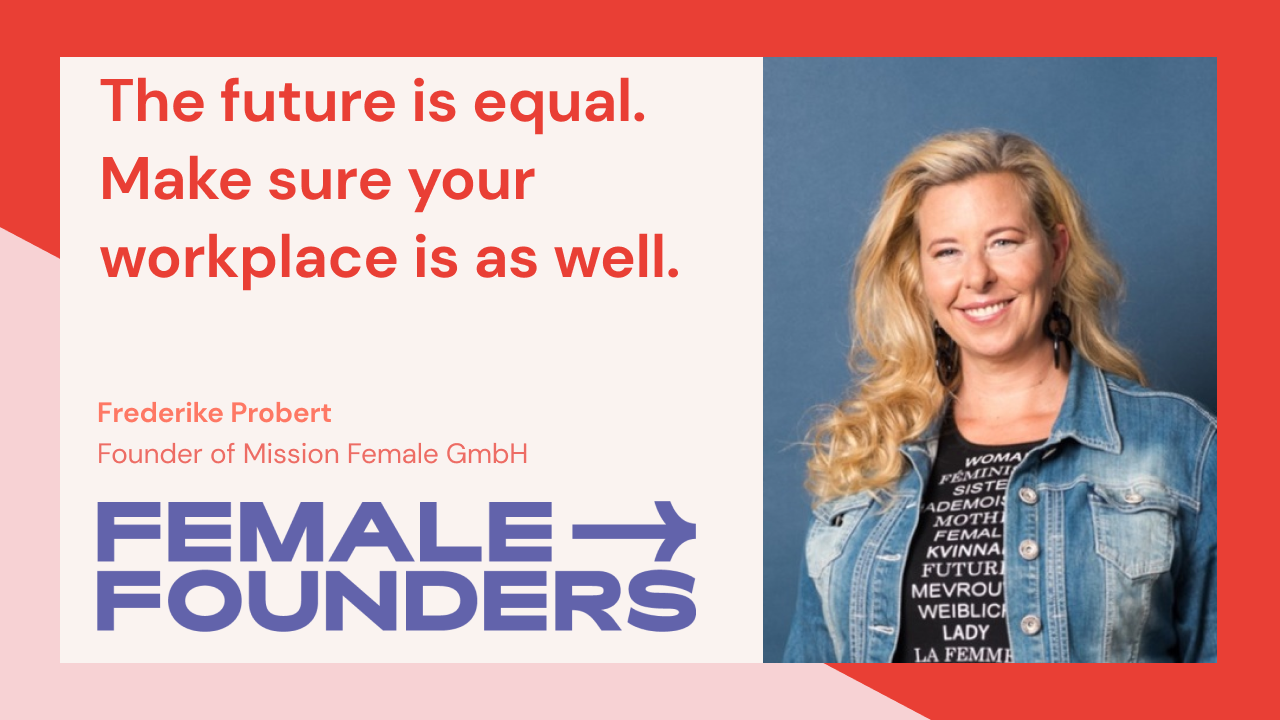 The future is equal. Make sure your workplace is as well.