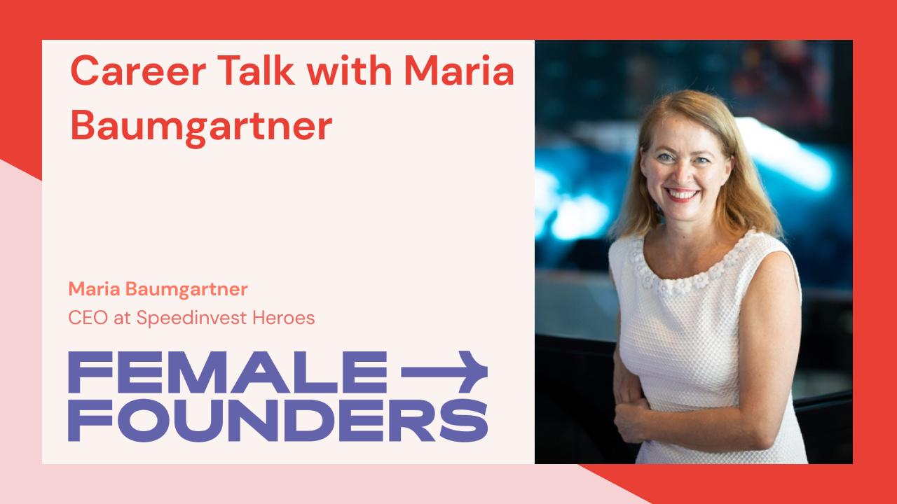 Career Talk with Maria Baumartner