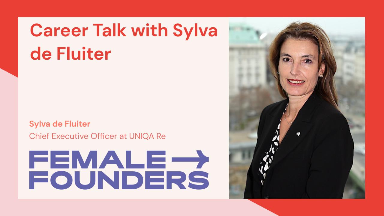 Career Talk with Sylva de Fluiter