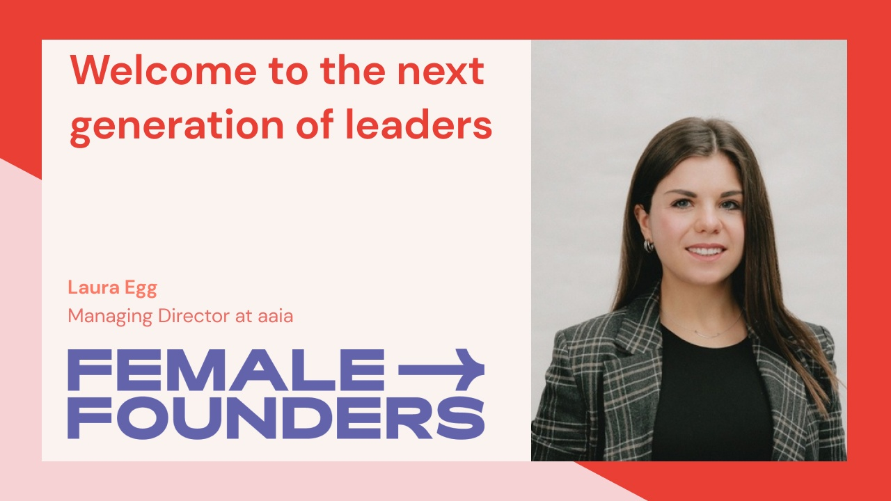 Welcome to the next generation of leaders